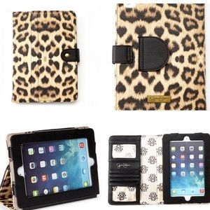 JESSICA SIMPSON Collection Leopard iPad case holde